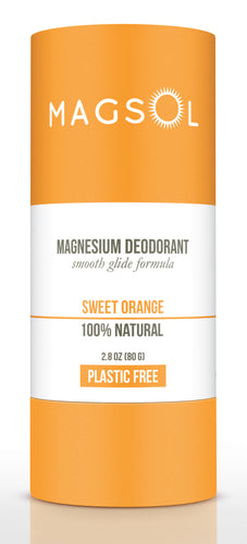 Plastic Free DEODORANT (Sweet Orange)