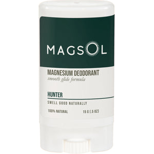 MAGSOL Natural Deodorant 0.5 oz Travel Size