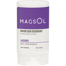 Load image into Gallery viewer, MAGSOL Deodorant 0.5 oz Travel Size
