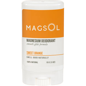 MAGSOL Deodorant 0.5 oz Travel Size