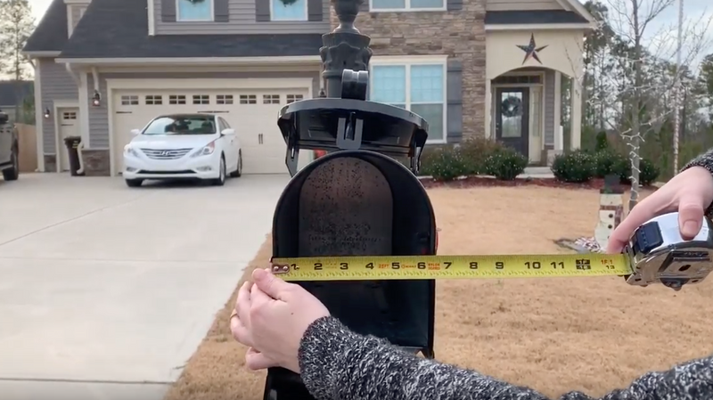 How the heck do I measure my mailbox to know what size door I need?