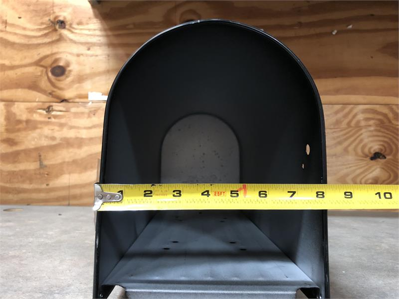 Large RetroFit Mailbox Replacement Door - Black
