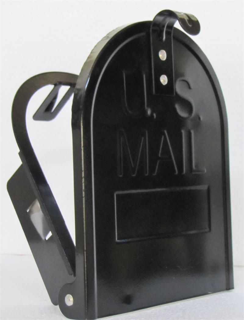 Small Mailbox Door Black