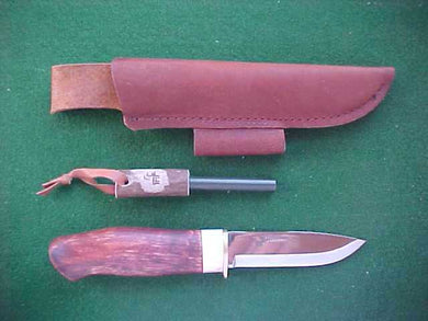 Karesuando Boar Survival Knife with Firesteel