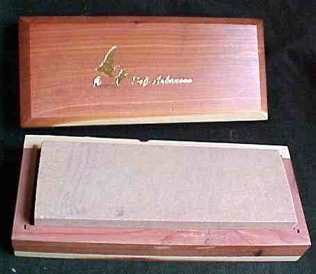 Sharpening - Large Soft Arkansas Stone in a box
