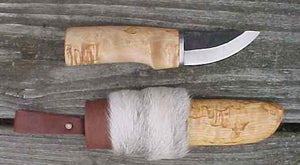 Roselli R121 The Grandfather Knife with Wood Sheath
