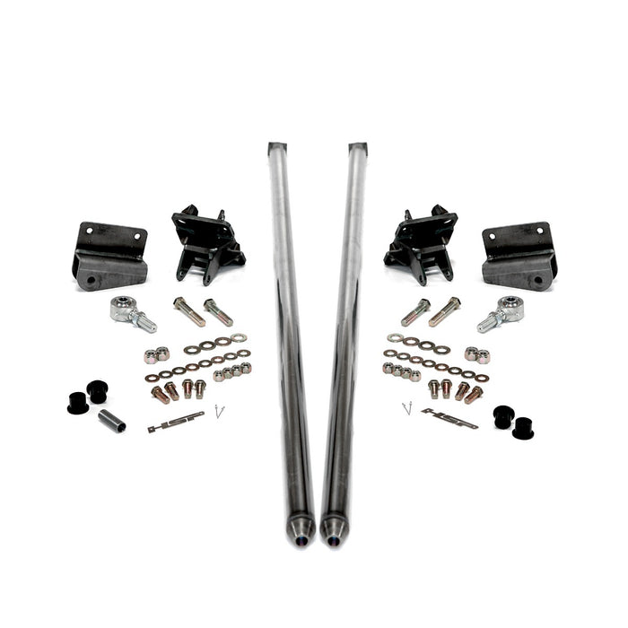 HSP 58IN BOLT ON TRACTION BARS 4IN AXLE DIAMETER FOR 2011-2019 CHEVROLET / GMC DURAMAX LML