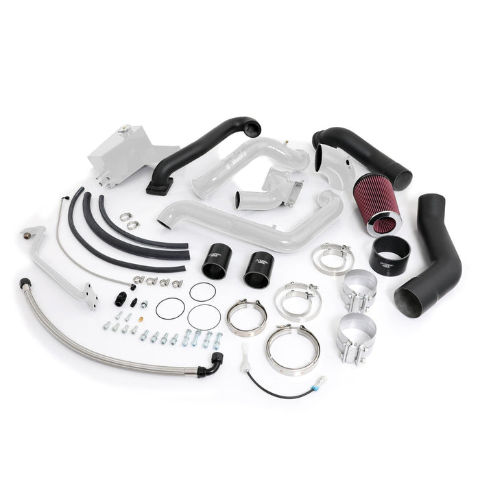 2004.5-2005 Chevrolet / GMC Over Stock Twin Kit No Turbo Corner Location HSP Diesel - sunny-diesel-performance