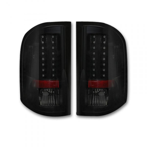 RECON 264175BK SMOKED OLED TAIL LIGHTS - sunny-diesel-performance