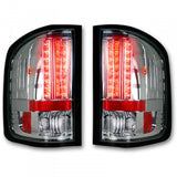 RECON 264175CL CHROME OLED TAIL LIGHTS - sunny-diesel-performance