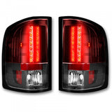 RECON 264175RD RED LED TAIL LIGHTS - sunny-diesel-performance