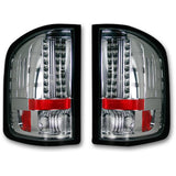RECON 264189CL CHROME LED TAIL LIGHTS - sunny-diesel-performance