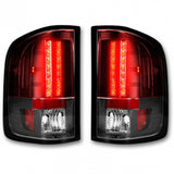RECON 264189RD RED LED TAIL LIGHTS - sunny-diesel-performance