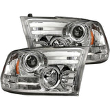 RECON 264276CLC CLEAR PROJECTOR HEADLIGHTS WITH OLED DRL - sunny-diesel-performance