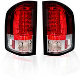 RECON 264291RD RED OLED TAIL LIGHTS - sunny-diesel-performance