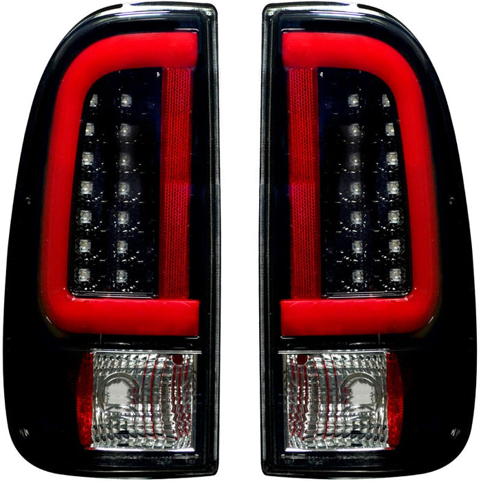 RECON 264293BK SMOKED OLED TAIL LIGHTS - sunny-diesel-performance