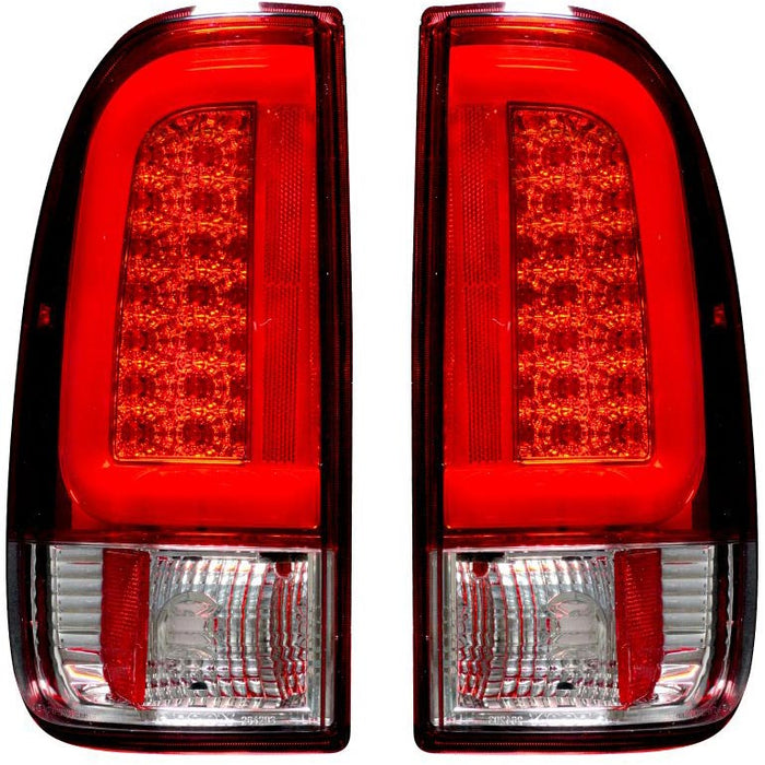 RECON 264293RD RED OLED TAIL LIGHTS - sunny-diesel-performance