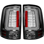 RECON 264336CL CLEAR LENS OLED TAIL LIGHTS - sunny-diesel-performance