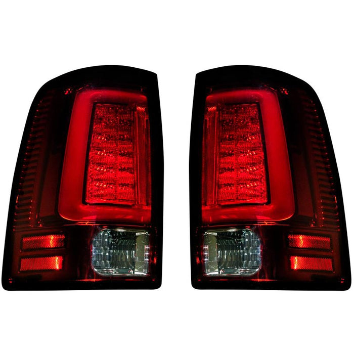 RECON 264369RD RED OLED TAIL LIGHTS - sunny-diesel-performance