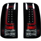 RECON 264389BK SMOKED OLED TAIL LIGHTS - sunny-diesel-performance
