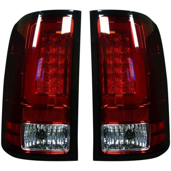 RECON 264389RD RED OLED TAIL LIGHTS - sunny-diesel-performance