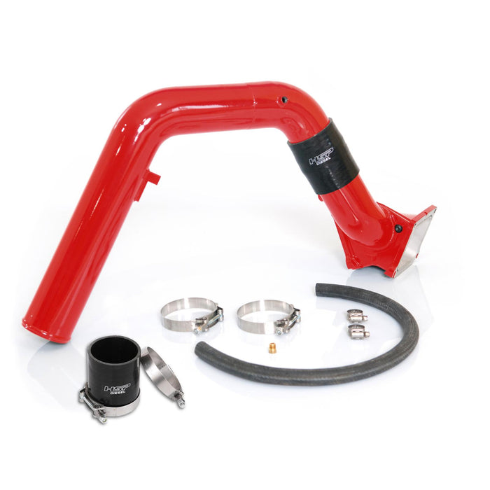 2006-2007 Chevrolet / GMC Max Flow Bridge and Cold Side Tube Over Alt HSP Diesel - sunny-diesel-performance