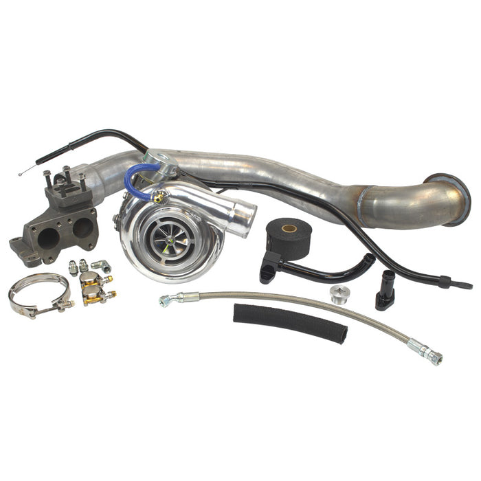 INDUSTRIAL INJECTION 427402 PHATSHAFT 66 TURBO KIT - sunny-diesel-performance