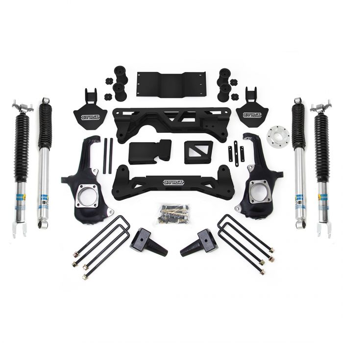 ReadyLIFT 5-6'' LIFT KIT - GM SILVERADO / SIERRA 2500HD/3500HD W/ BILSTEIN SHOCKS 2011-2019 - sunny-diesel-performance
