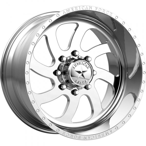 AMERICAN FORCE BLADE SS DIRECTIONAL FORGED WHEEL - POLISHED - sunny-diesel-performance
