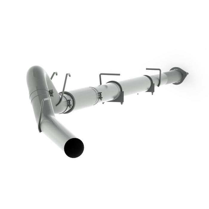 08-10 F250/350/450 5 INCH DOWN PIPE BACK EXHAUST w/MUFFLER - sunny-diesel-performance