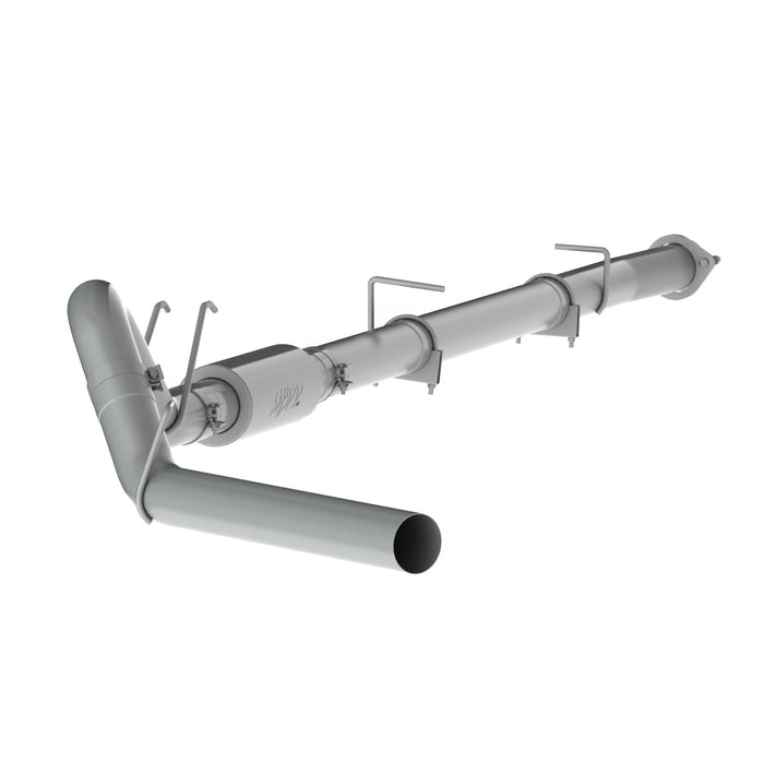 08-10 F250/350/450 6.4L 4 INCH w/MUFFLER DOWN PIPE BACK EXHAUST - sunny-diesel-performance