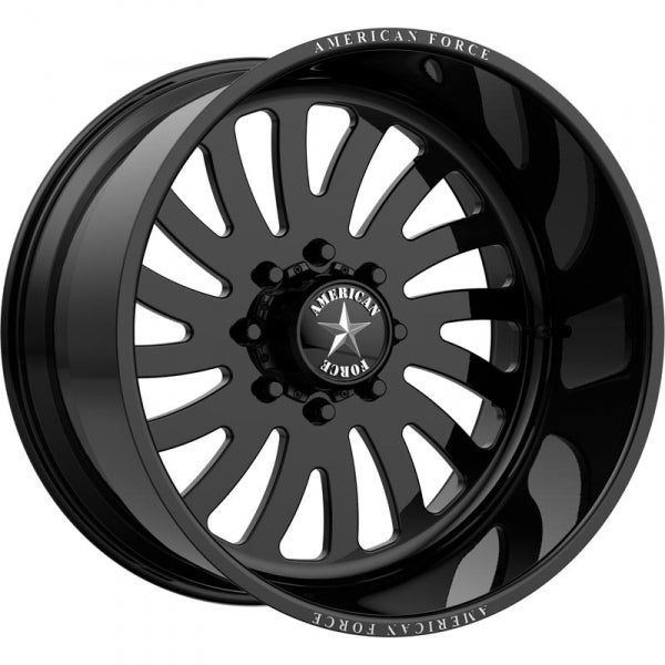 AMERICAN FORCE OCTANE SS DIRECTIONAL FORGED WHEEL - BLACK - sunny-diesel-performance