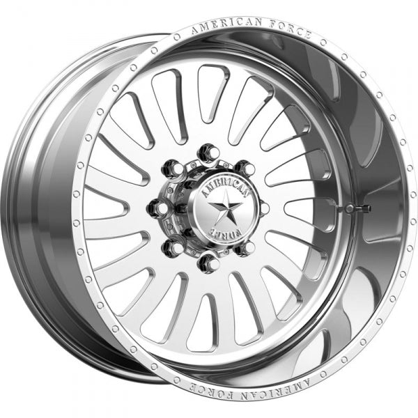 AMERICAN FORCE OCTANE SS DIRECTIONAL FORGED WHEEL - POLISHED - sunny-diesel-performance