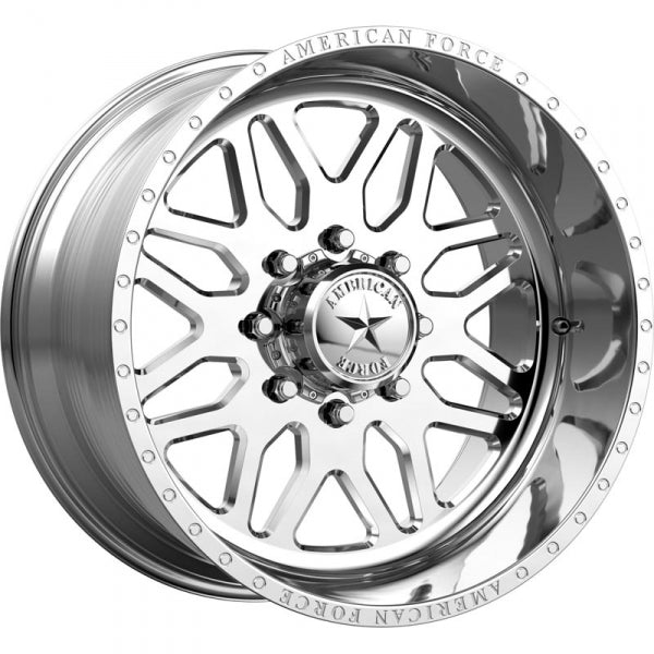 AMERICAN FORCE TRAX SS FORGED WHEEL - POLISHED - sunny-diesel-performance