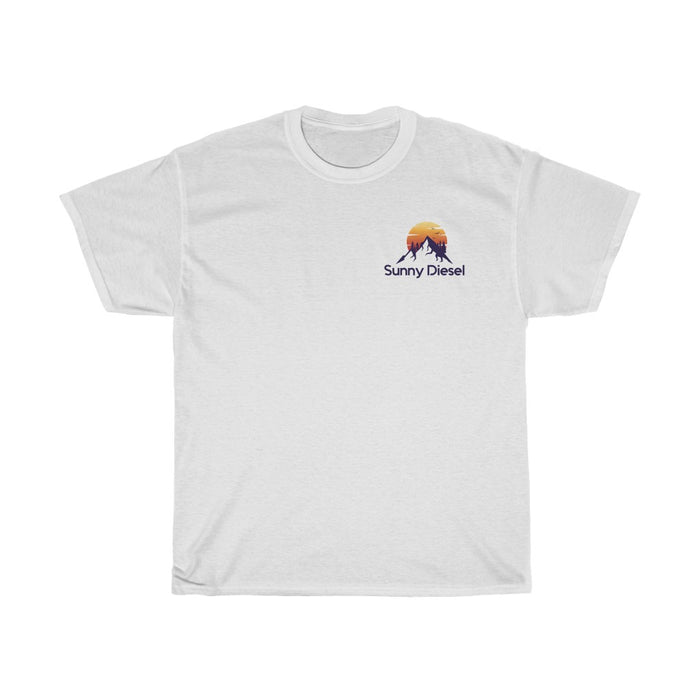 SD Logo Mountains T-Shirt