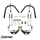 KRYPTONITE DUAL SHOCK HOOP PACKAGE W/ STAGE 2 CONTROL ARMS 2001-2010