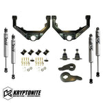 KRYPTONITE STAGE 3 LEVELING KIT WITH FOX SHOCKS 2001-2010