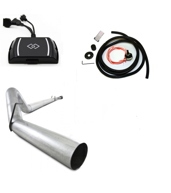 GDP SOTF EZ LYNK 2.0 RACE PACKAGE 4IN EXHAUST 2011-2019 6.7L POWERSTROKE - sunny-diesel-performance