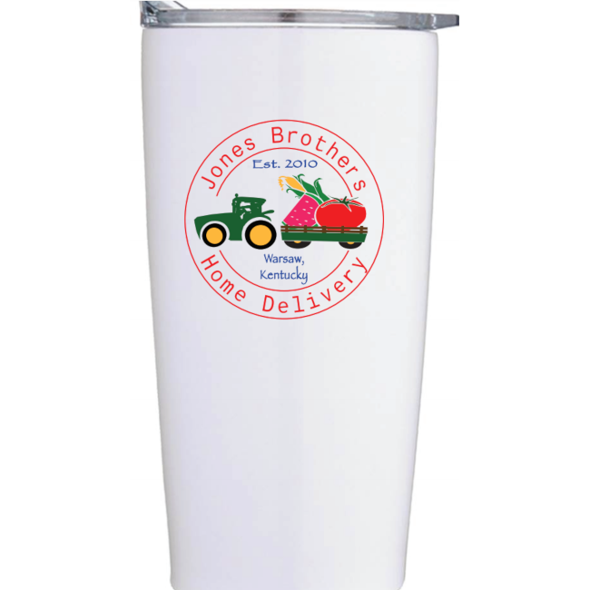 Jones Brothers Farms Coffee Thermos (200 Points)