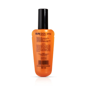 SUNSKIN SUNSCREEN SPF50 50ml