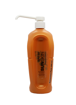 SUNSKIN SUNSCREEN SPF 50 Refill 500ml