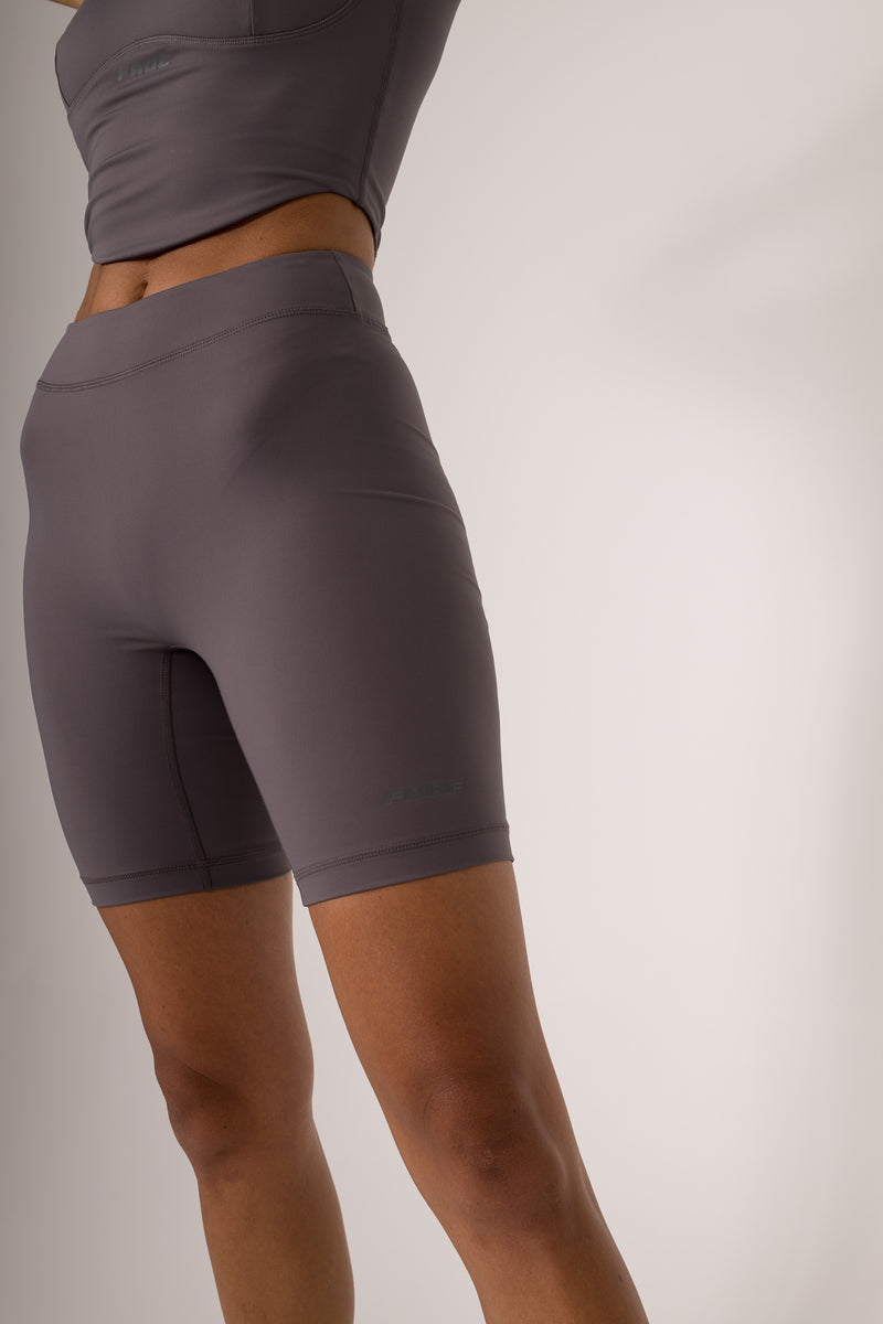 THE FORM BIKE SHORTS - BLACKENED PEARL