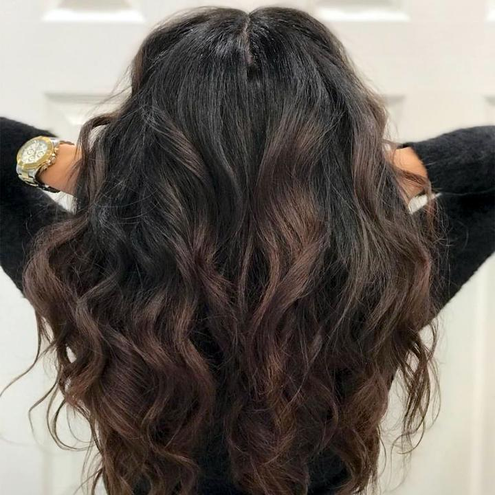 Vivir Hair Extensions product clip-in topprt