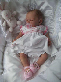 "17"" REAL LIFELIKE JOURNEY REBORN BABY DOLL"