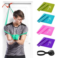Resistance Elastic bands Set with Door Anchor