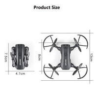 Foldable FPV WiFi RC Quadcopter Remote Control Drone - GiftedLoving