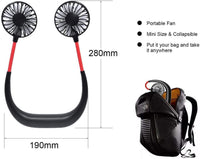CoolZ™ Portable Hanging Neck Fan - GiftedLoving