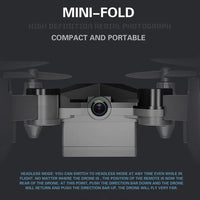 Mini Folding Unmanned Aerial Vehicle - GiftedLoving