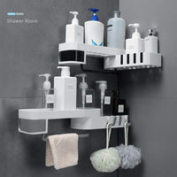 Multi-Rack Corner Shower Shelf