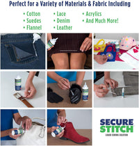 Secure Stitch Liquid Sewing Solution Kit - GiftedLoving